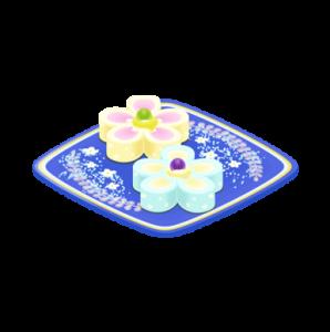 フラワーロールケーキ