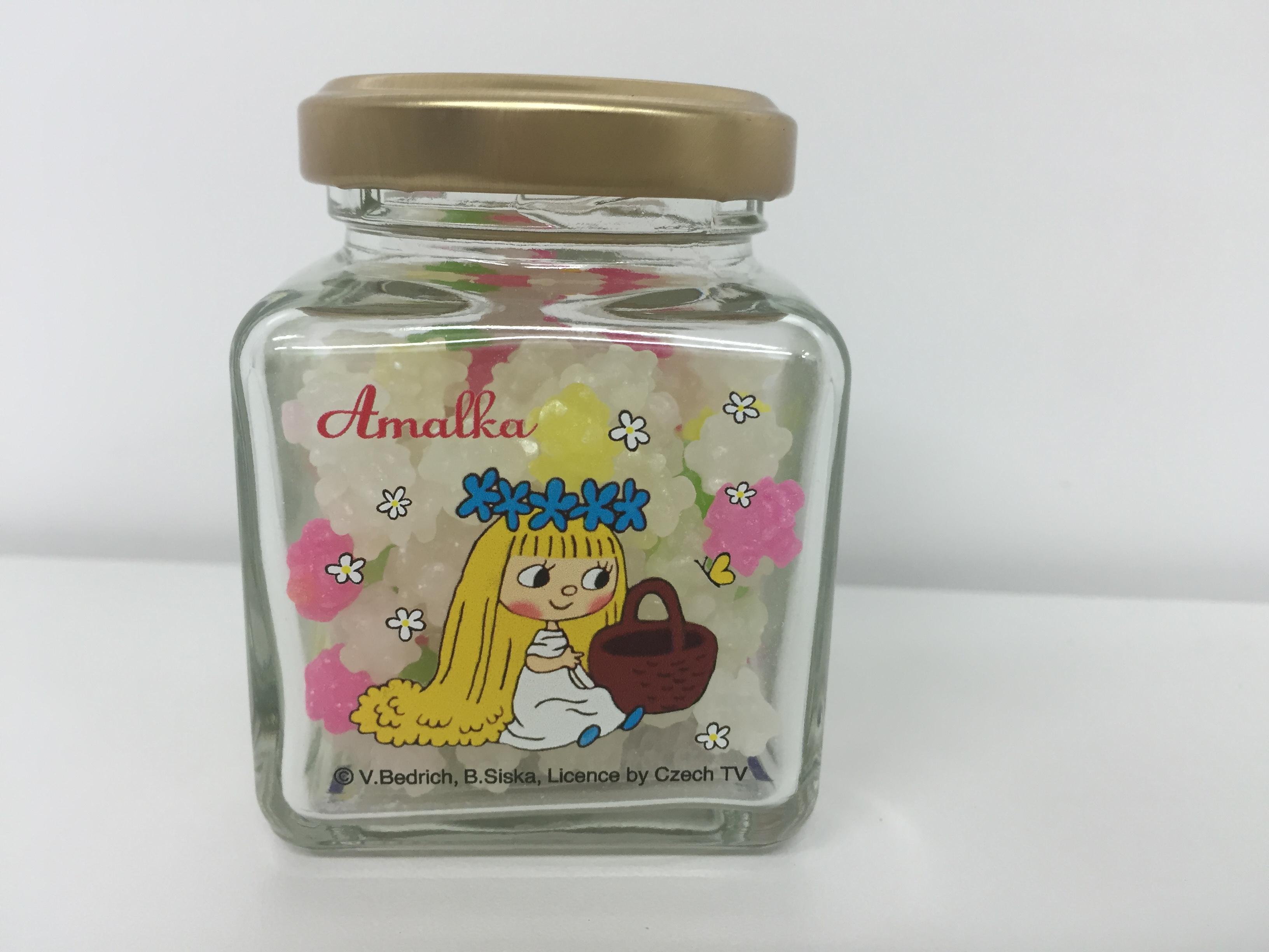 アマールカの瓶詰めの金平糖♪